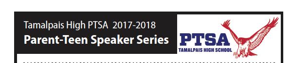 Save the Dates! 2017/2018 Parent-Teen Speaker Series